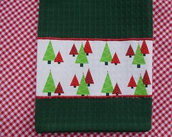 Christmas Tea Towel (563)