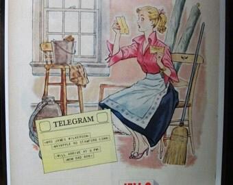Food  135   Jello.   Ad  -  November  1952