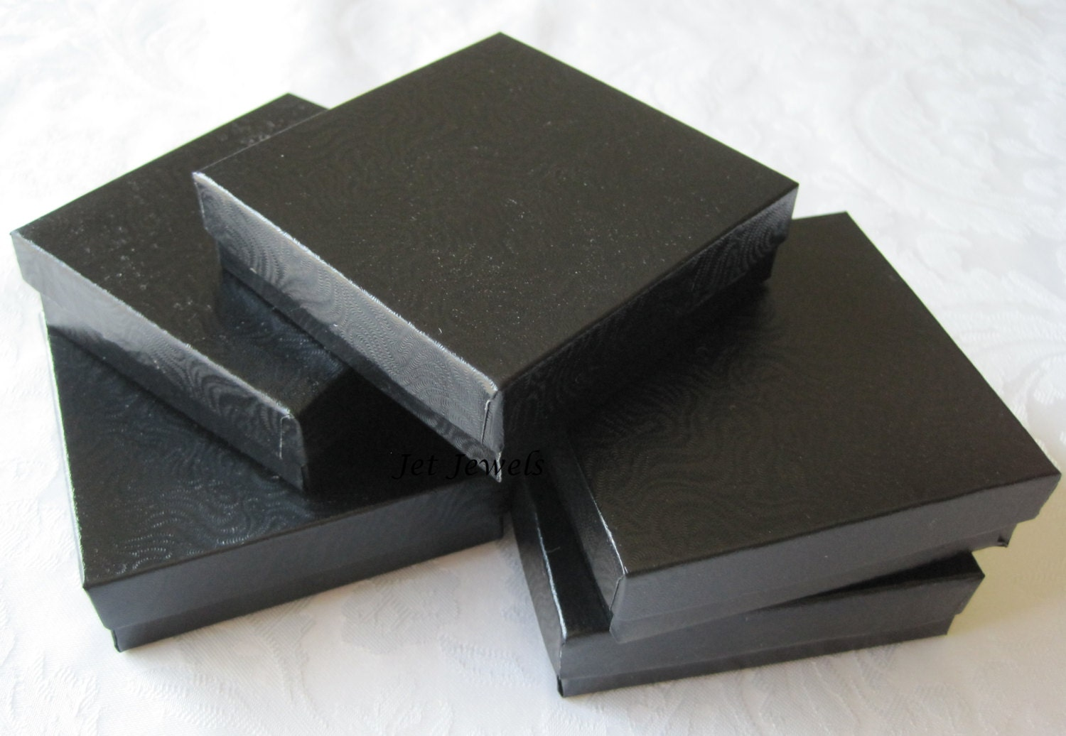 10 black gift boxes jewelry gift boxes jewelry box for Black box container studios