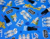 Special price 1 meter Star Wars Fabric 100 cm by 106  cm or 39 by 42 inches