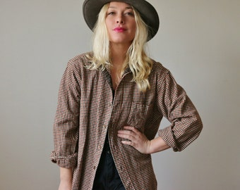 1960s Pendleton Camper Shirt >>> Size Small to Large