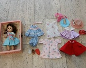 Sale - Ginny doll with box and extra clothing