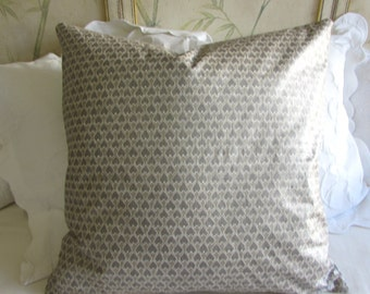 EURO PILLOW COVER 26x26 diego/champaign