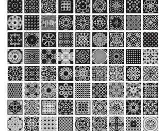 1 to 100 Circles (18x24)