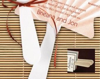 100 Plastic Program Fan Handles Wedding Favors Craft Supply
