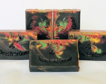 Dragons Blood Handmade Soap, Vegan Soap, Dragons Blood Soap, Rasta, Hippie, Hemp Soap, Hippie Soap, Natural Soap, Incense