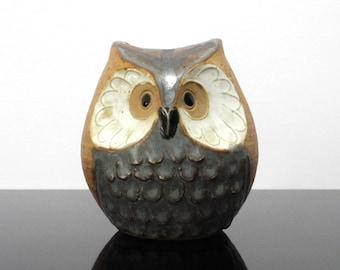 Ceramic Owl / Vase / Vintage