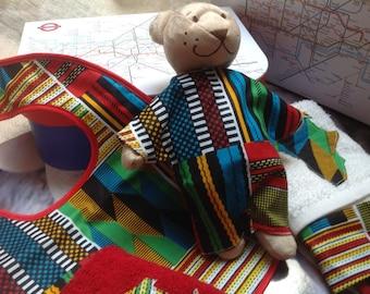 London baby shower christening naming ceremony African medium inspired gift case