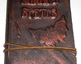 Halloween Altered Book - Magick Spells
