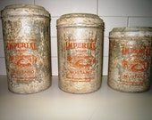 Cottage Chic Canister SET