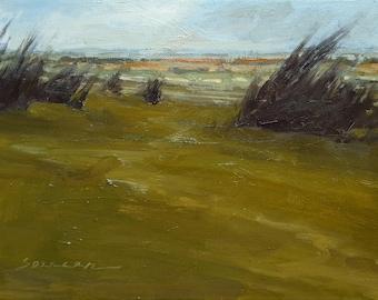 Near Glenn Park | Oil Painting Original Painting Landscape Painting | 9 x 12