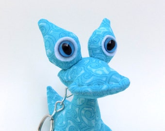 Cute Keychain, Stocking Stuffer Toy for Boys, Alien Keychain, Stocking Stuffers by Adopt an Alien named Nelson