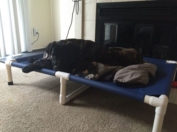 Extra Large Raised Dog Bed Huge Pet Bed by DianesK9Creations