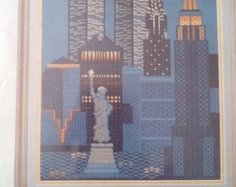 New York Skyline needlepoint kit