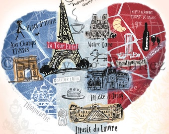 Limited Edition/100% Proceeds donated to the IFRC.org: Paris, the City of Light – Nous sommes avec vous