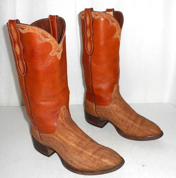 loveless cowboy boots mens size 8 5 womens 10