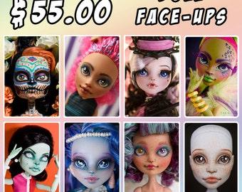 Custom Doll Face Up