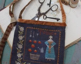 Tomato Harvest Sewing Bag *PATTERN*