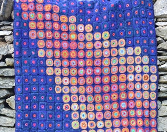 Catalina Comet Crochet Afghan/Blanket  - PDF CROCHET PATTERN