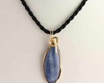 Kyanite Pendant. Listing 399722565