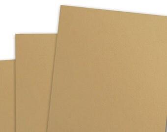Basis LIGHT BROWN 80lb Card Stock 8.5x11 - 25 sheets