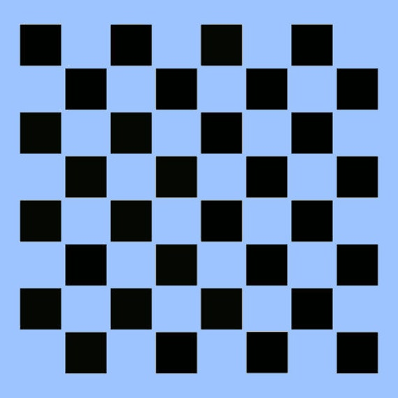 1 25 checkerboard stencil template game board gameboard