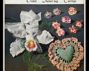 Vintage 50s Crochet and Knitting Star Book No. 89 - Like New Condition