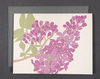Lilac Card Set