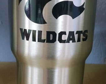 Kansas State University Wildcats Ozark Tumbler Mug Cup | Gift | Sports | College Graduation