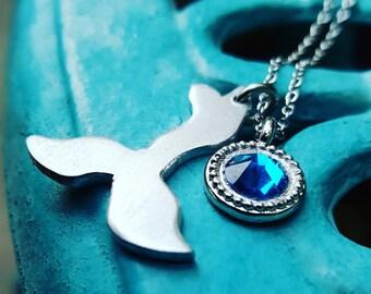 Mermaid tail pendant, siren of the sea, Mermaid lover