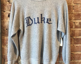 vintage duke university sweater