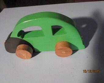Little hands green VW