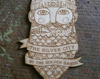 Silver hipster decoration