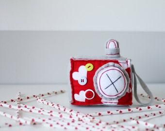 Happy Hearts Plush Camera