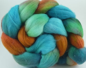 4oz  Polwarth Combed Top - Faces of the Ancients