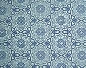 COUPON Code Sale - FAT QUARTER - Joel Dewberry, Botanique, Mosaic Bloom, Deep Water Blue, Free Spirit, 100% Cotton Quilt, Quilting Fabric
