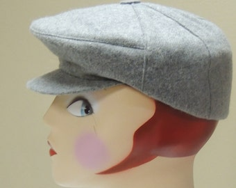 Aegean Grey Wool Greek Fisherman's Cap