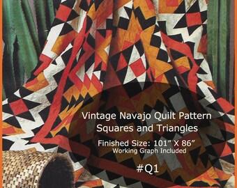 Navajo pattern | Etsy : navajo quilts - Adamdwight.com