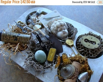 20PercentOff Excavated Nature's Treasures for Altered art and Jewelry