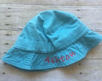 Personalized bucket hat, boys hat, gorls hat, monogrammed hat