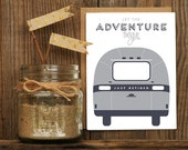 Airstream Retirement Letterpressed Greeting Card