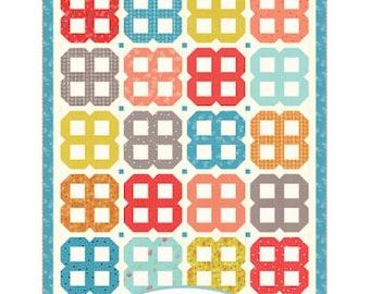 Bloom Quilt Paper Pattern