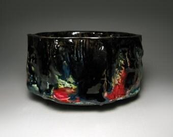 Chawan / Raku tea bowl / bol à thé raku / 125 x 70 mm