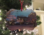 SEATTLE Pikes Market Photo Ornament -  Home Decoration
