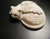 Memorial Angel Kitty Personalized  Figurine