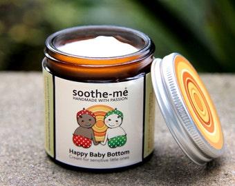 Happy Baby Bottom Cream - nappy rash mild eczema