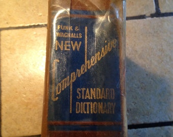 New Comprehensive Standard Dictionary by Funk and Wagnal