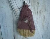 Primitive Whisk Broom, Whisk Broom, Covered Whisk Broom, Kitchen, Ofg, Faap, Hafair, Dub, Atgcele