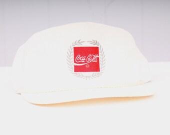 vintage 1980s Coca Cola snap back hat new old deadstock Coke