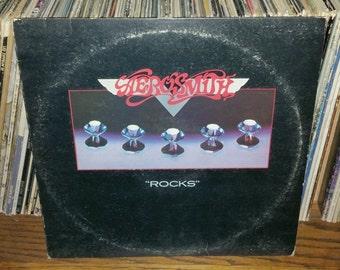 Aerosmith Rocks Vintage Vinyl Record